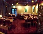 Wide angle view of one of our dining rooms